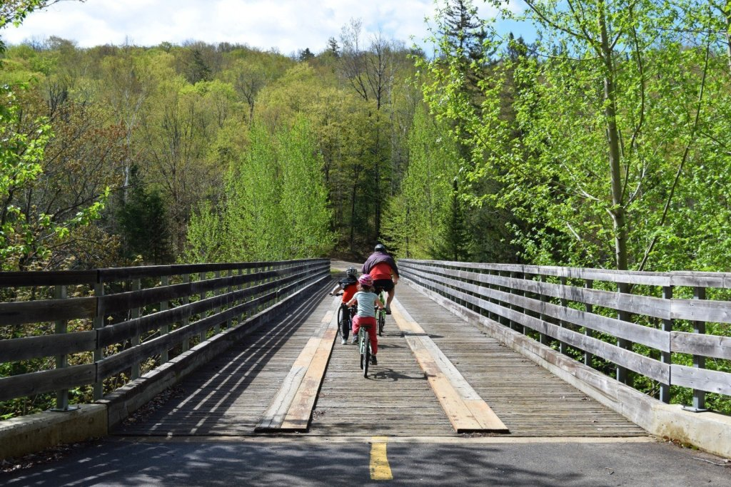 bike path tremblant