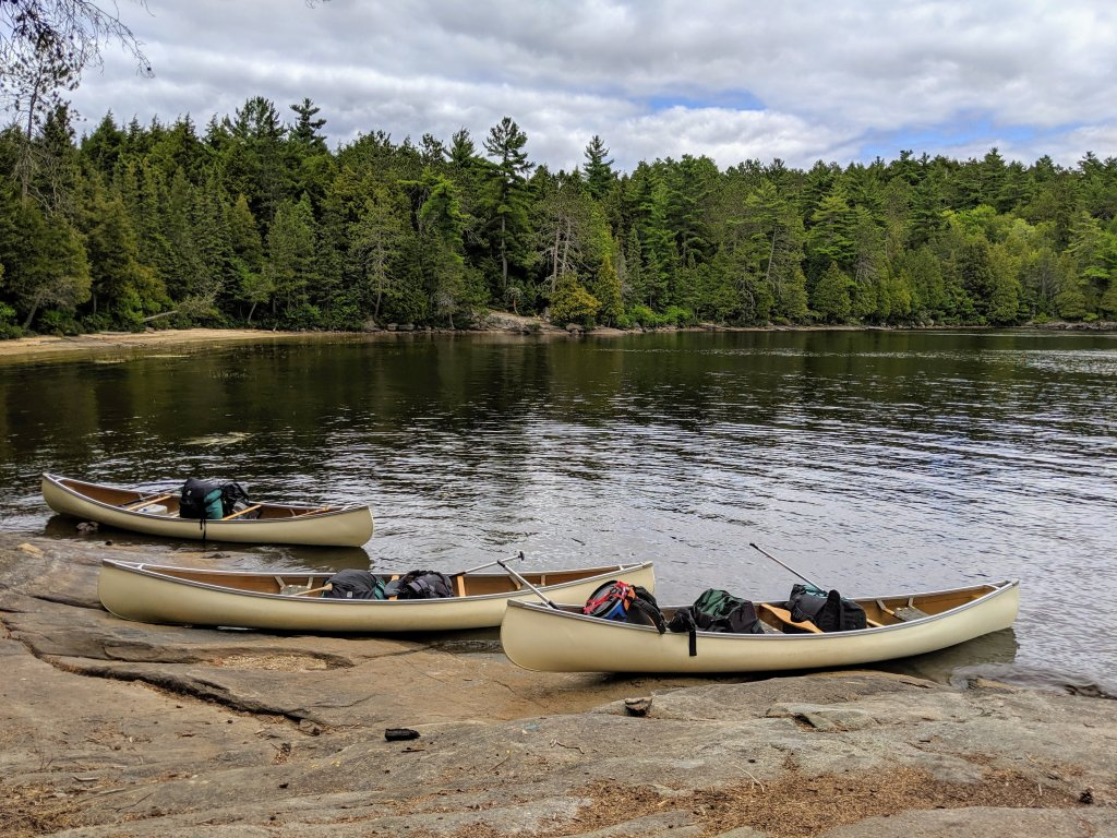 Algonquin canoe rental