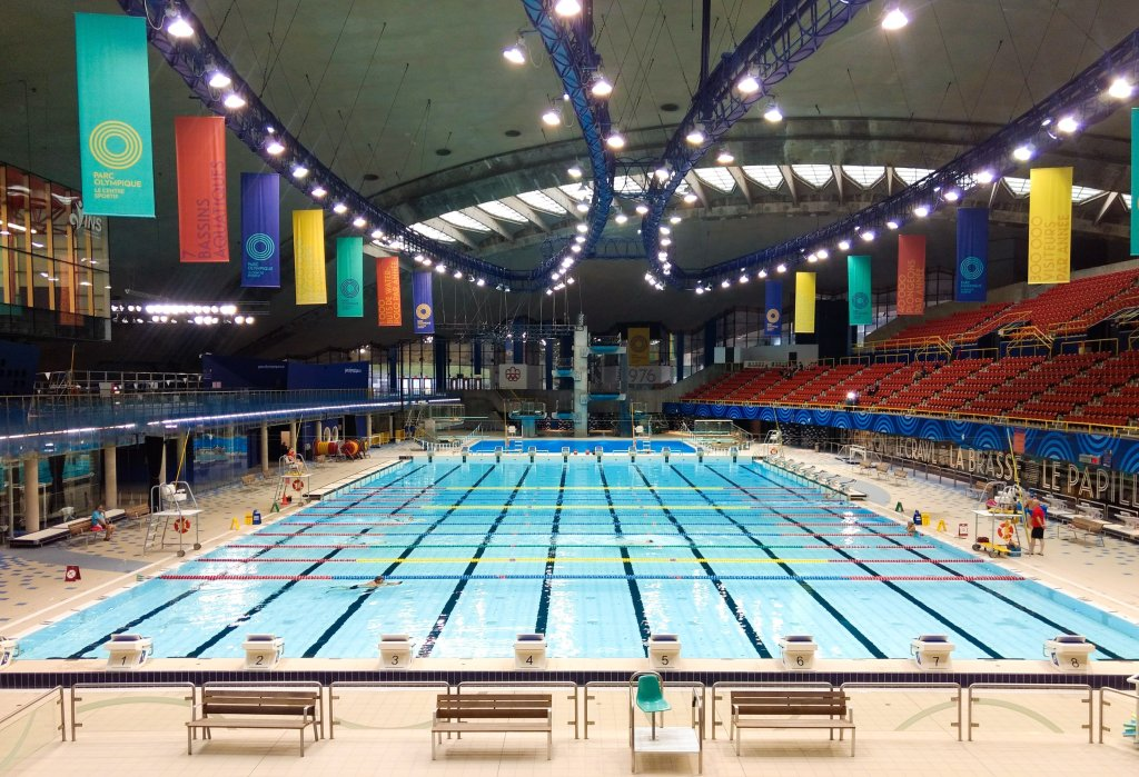 swimming at olympic park montreal