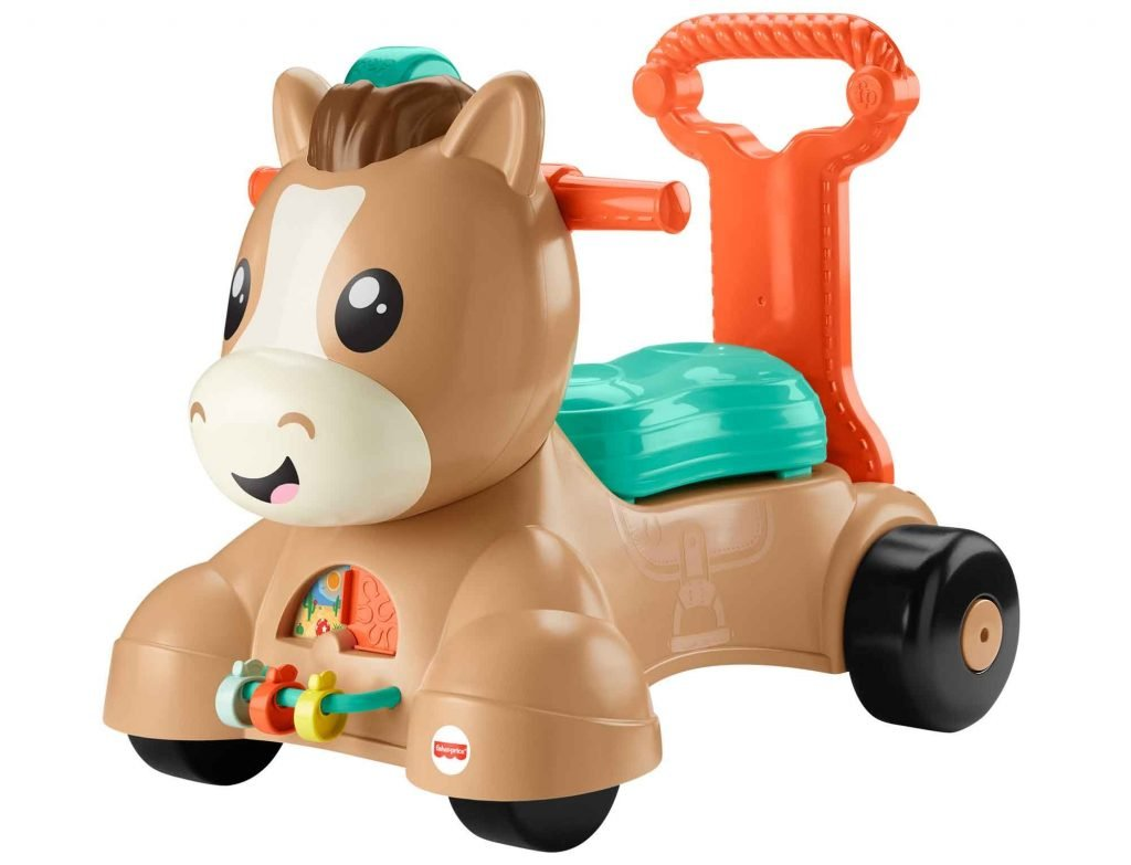 Fisher-Price Walk, Bounce & Ride Pony