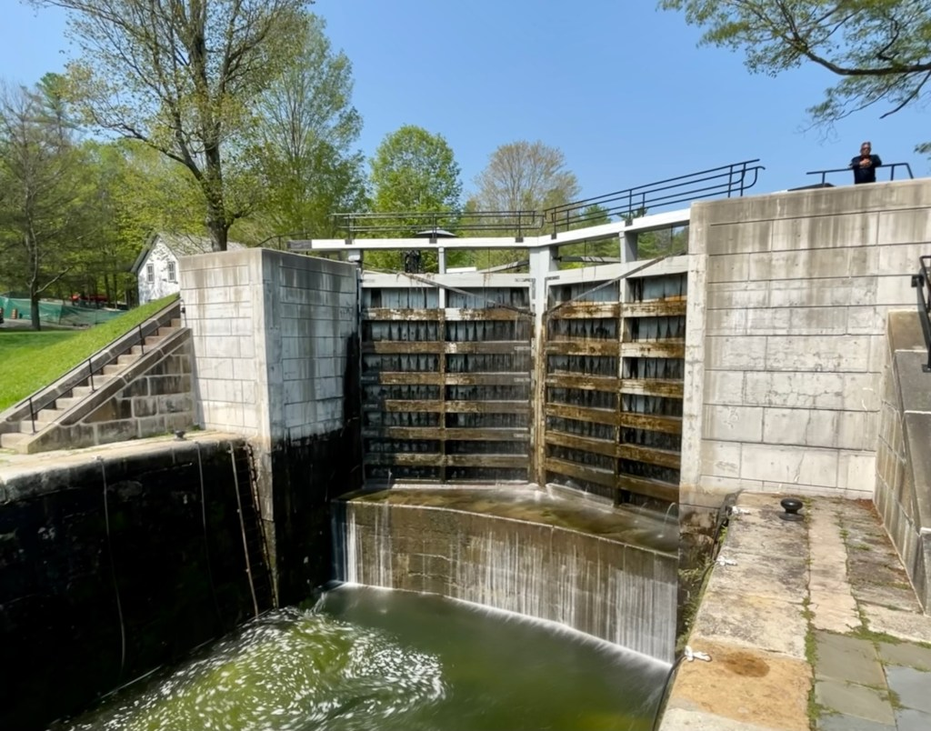 Jones Falls lock