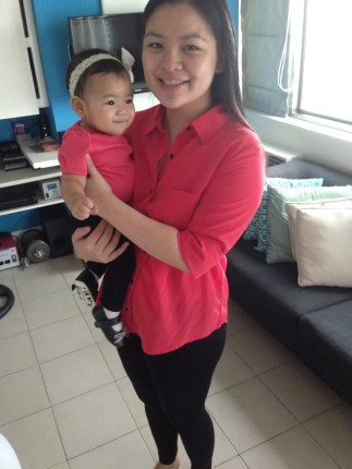 My Little Zeeka and I with Matching outfits