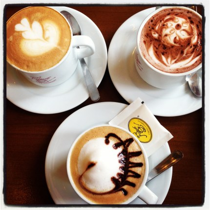 Coffee Art at Figaro