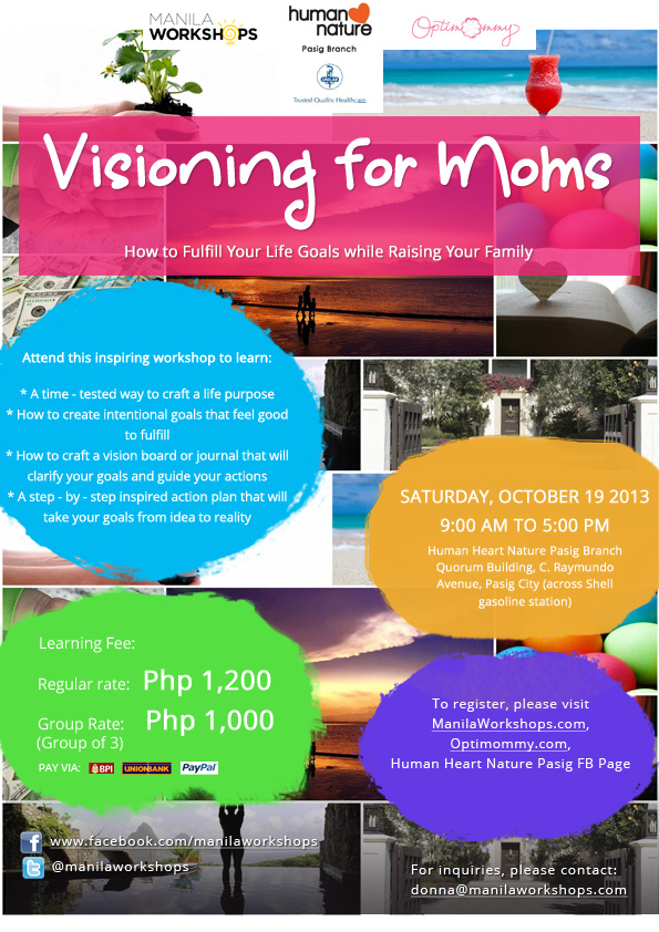 Visioning for Moms