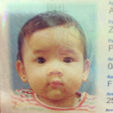 Zeeka's passport picture