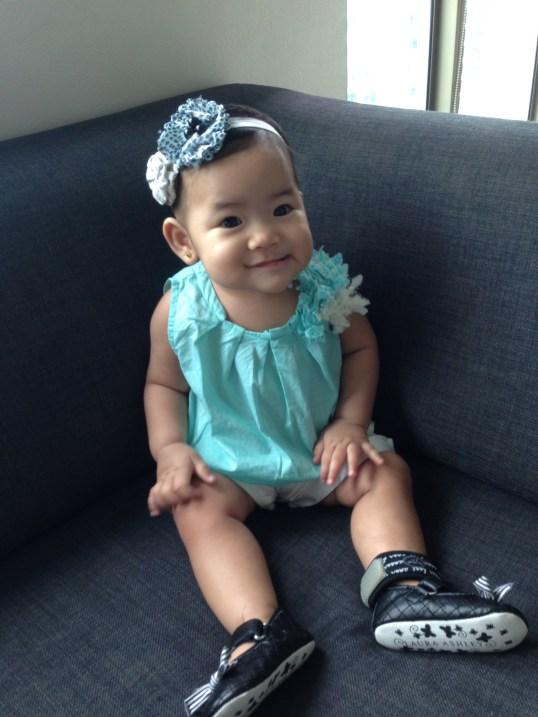 Zeeka wearing her Para'Kito Wristband