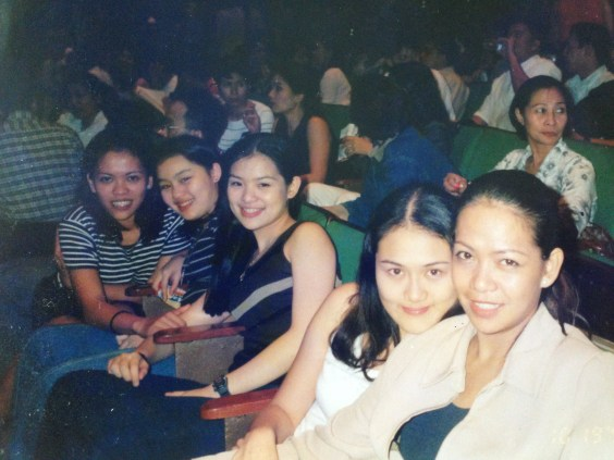 Me with friends and my sister. I was around 19 years old :)