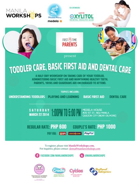 Toddler Care, Basic First Aid and Dental Care