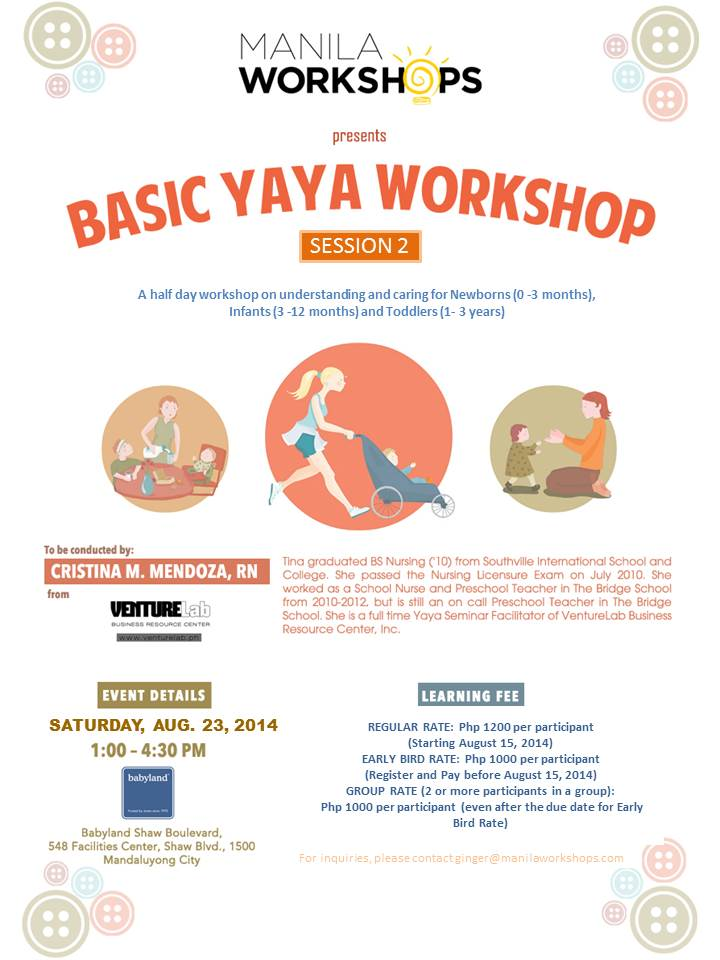 Basic Yaya Training Session 2