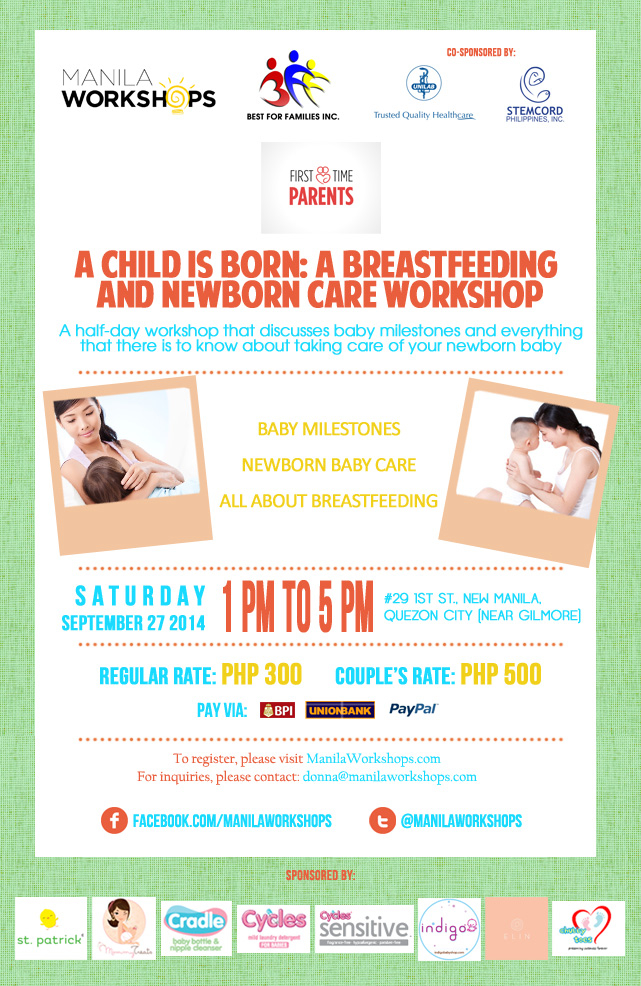 Breastfeeding and New Born Care Workshop