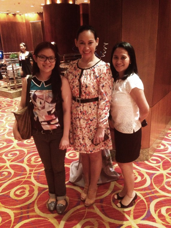 Yours truly with Ms. Amy Tamayo, FVP of Insular Life and Ms. Jo from Marketing