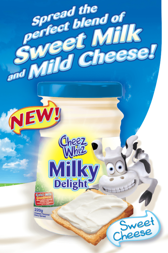 Cheez Whiz Milky Delight