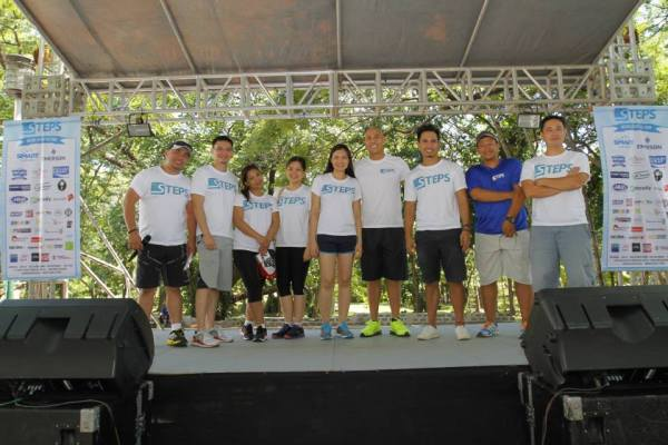 The Steps Project team at the Active Lifestyle Fair last May 2014