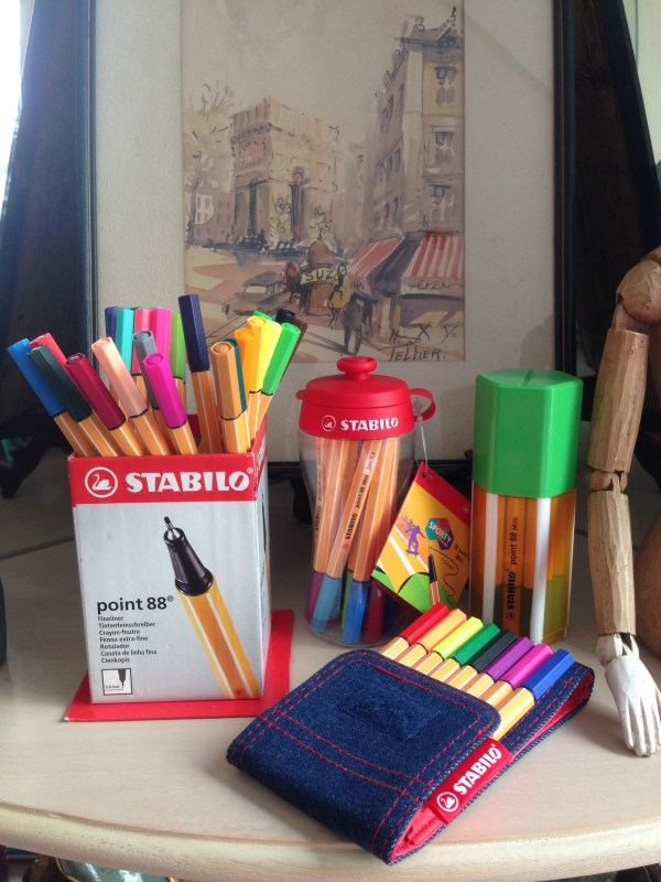 Stabilo launches the .88 colored pens