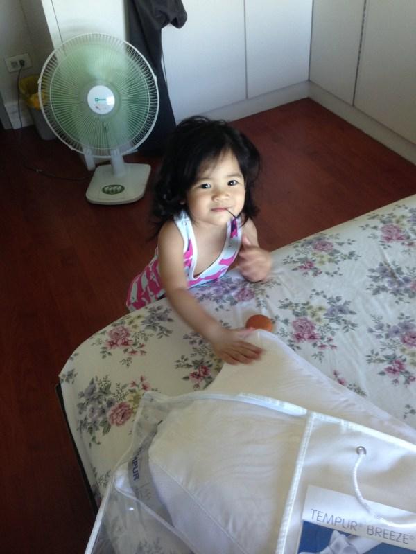 Zeeka loves the softness of this Tempur Pillow