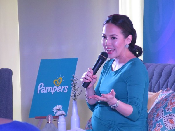 New Ambassador of Pampers, Andi Manzano - Reyes