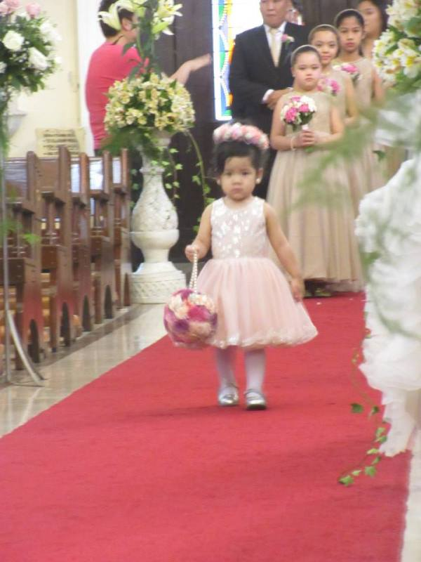 Zeeka as Flower Girl 2