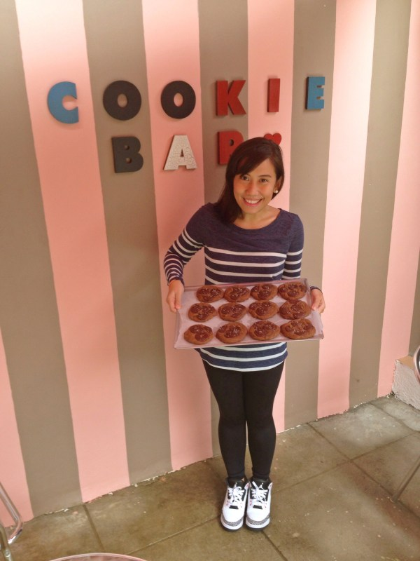 Entrepreneur Ivorie of Cookie Bar