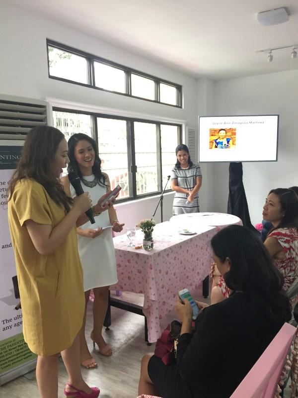 Joyce Martinez sharing her wish for TPE!