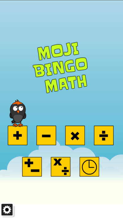 Moji Bingo MAth 2