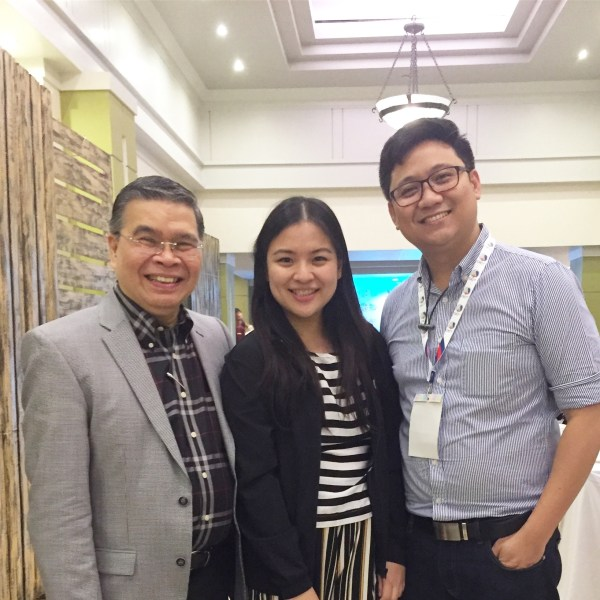 Yours Truly with the Secretary of DICT, Atty. Rodolfo Salalima