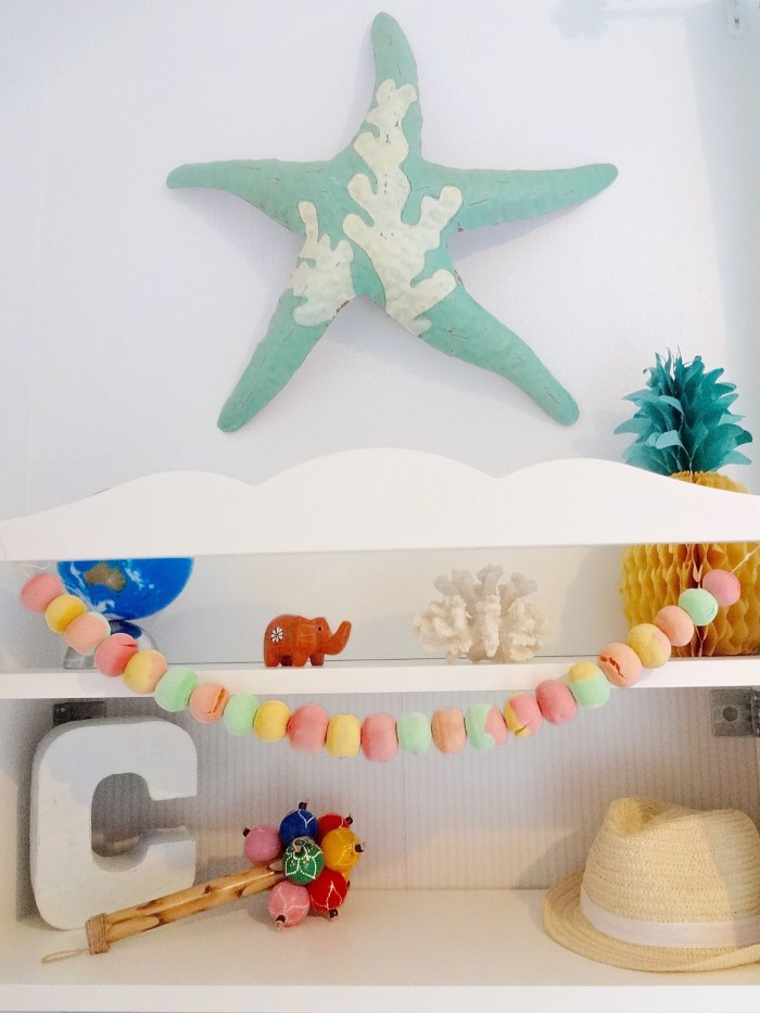 Salt Dough Ball Garland