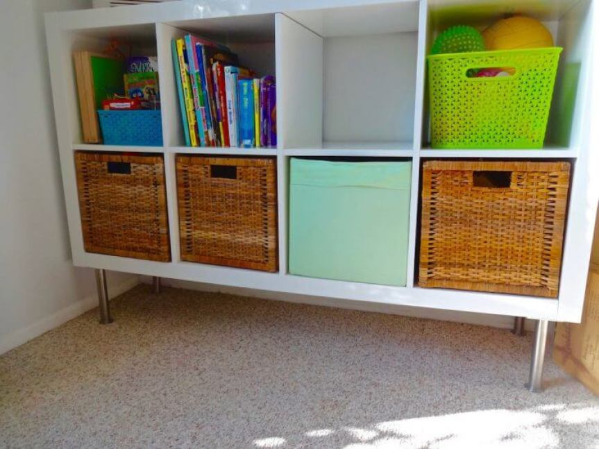 Decluttering and Organizing Tips For Kids' Rooms