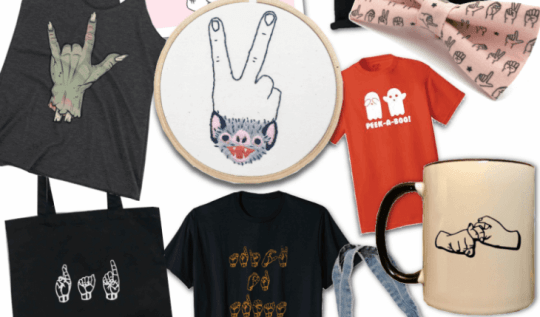 ASL Halloween Gift Guide #giftideas #giftguide #ASL #signlanguage #halloweengifts #halloweendecor