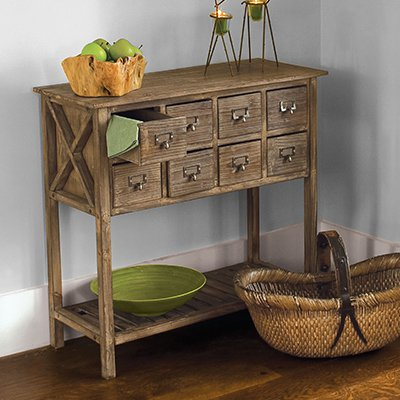 Apothecary Wooden Table / Industrial Farmhouse