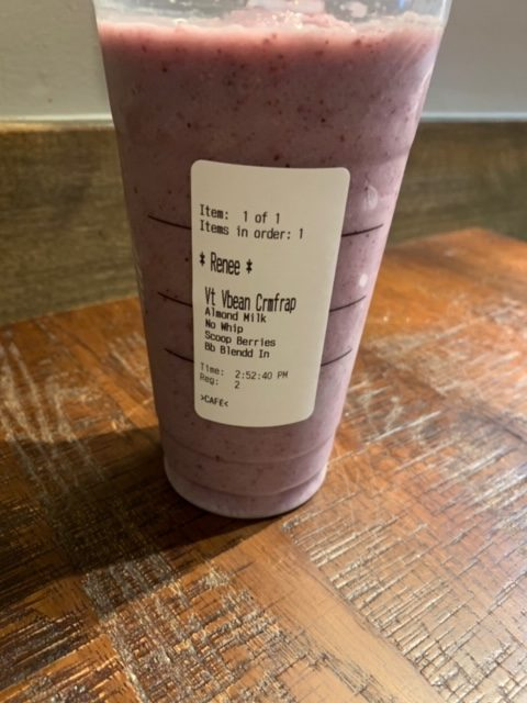 Purple Starbucks drink