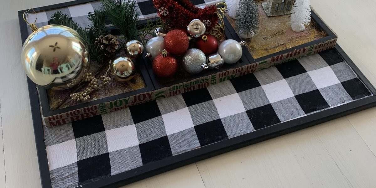 Dollar Tree Christmas  DIY table decor