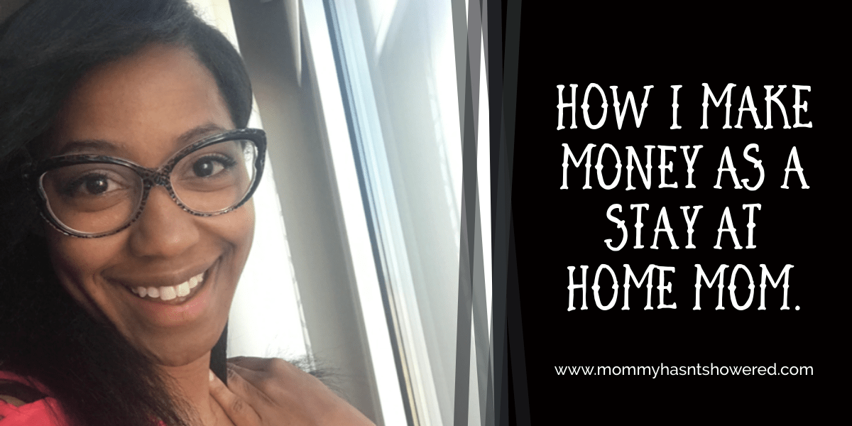 make money as stay home mom