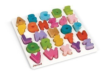 Wooden Alphabet for Toddlers
