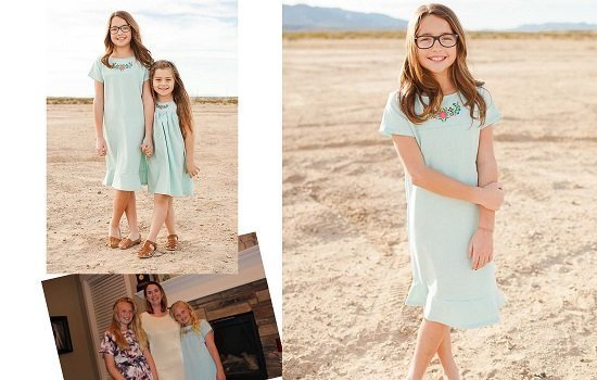 Cute Modest Dress for Tweens and Juniors