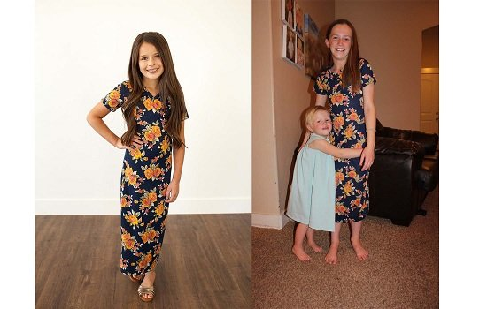 Trendy and Modest Tween Dress
