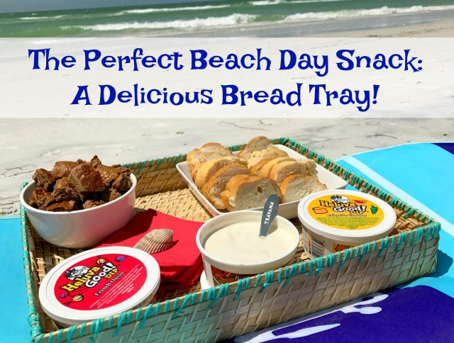 The Perfect Beach Day Snack - A Delicious Bread Tray