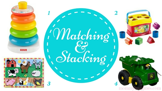 Matching and Stacking Toys for 1 Year Old Boys