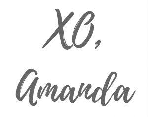XO, Amanda