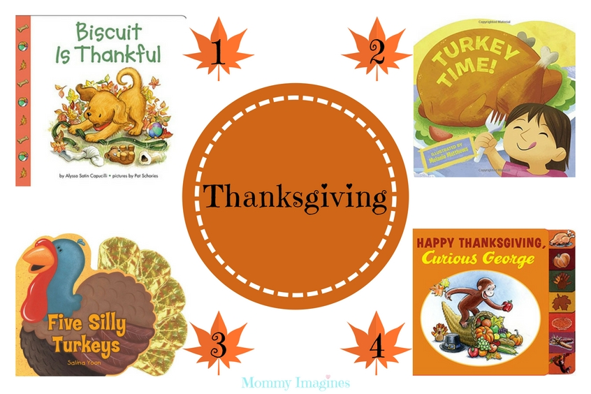 Thanksgiving Books for Toddlers