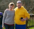 Me and Chris-I think this is the only picture taken of me all Christmas!