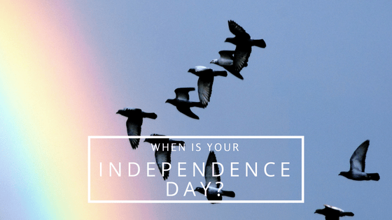 When is your Independence Day?Reading this simple line jolted me this 15th August & made me think. #IndependenceBlogTrain #WhatFreedommeanstome #IamFree
