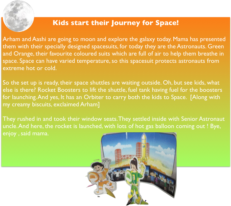 Space Stories for kids