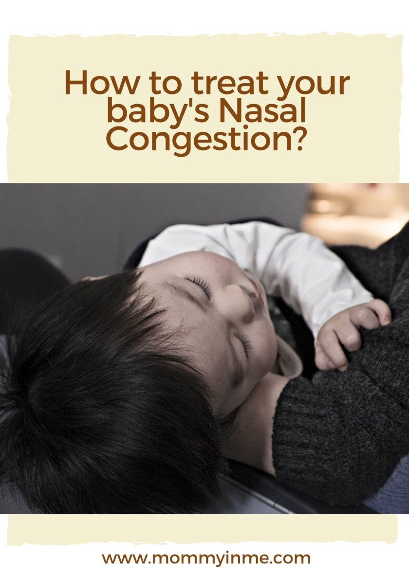 How To Treat Your Baby S Nasal Congestion With Nasobuddy