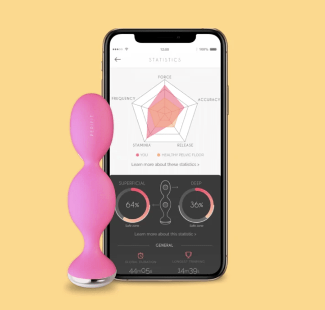 Perifit is a Biofeedback Device to ease your stance of doing Kegels and involve both deep and superficial pelvic muscles in a fun way playing video games. #kegels #kegelexerciser #pelvicfloor #perifit #biofeedback #kegel #videogames