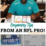 Couponing Tips From an NFL Pro