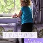 Tricks for Salvaging Naptime