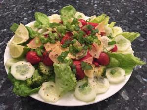 Veggie & Cheese salade