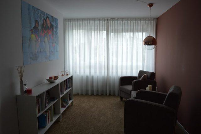 Een nieuwe woonkamer