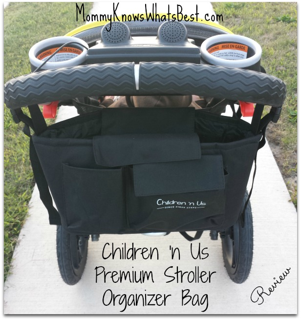 stroller organizer bag review