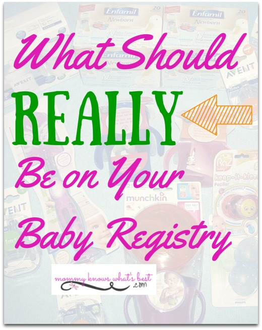 be on your baby registry